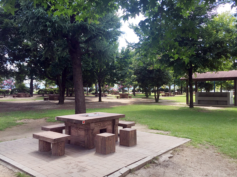 いせさき市民のもり公園バーベキュー広場